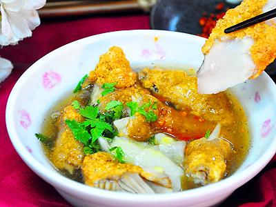 台湾台南美食‧东阳土魠鱼羹